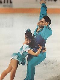 Isabelle Brasseur et Lloyd Eisler