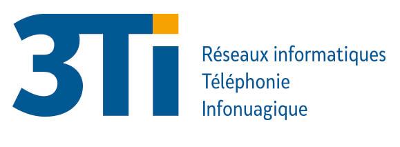 logo 3Ti - Réseaux Informatiques Téléphonie Infonuagique